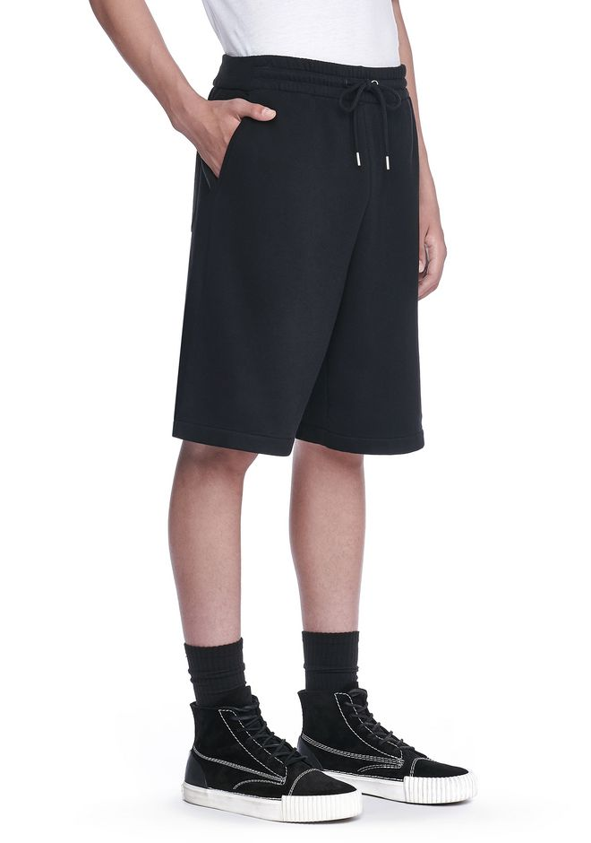 T by ALEXANDER WANG SHORTS VINTAGE FLEECE SHORTS