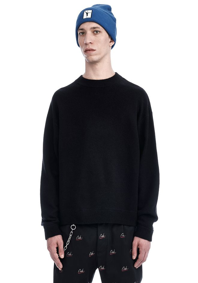 T by ALEXANDER WANG new-arrivals OVERSIZED CREWNECK SWEATER