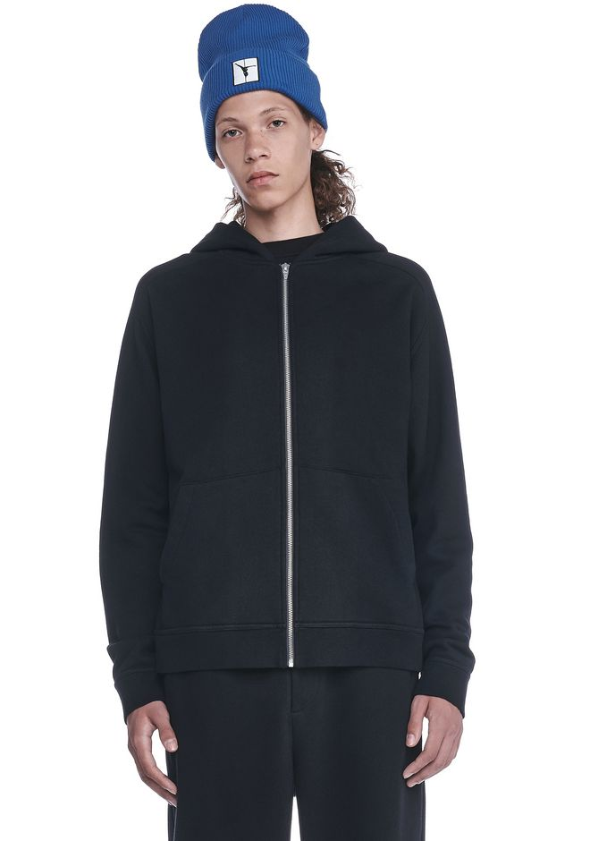 T by ALEXANDER WANG HOODIES VINTAGE FLEECE HOODIE
