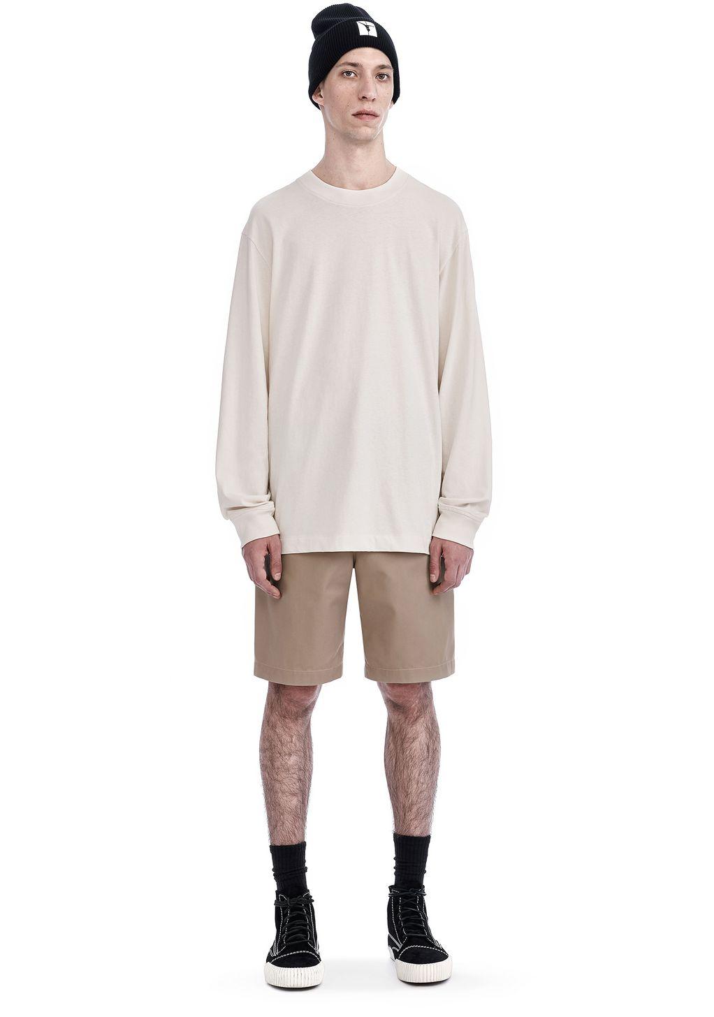 High twist mock neck long sleeve long sleeve t shirt for Mock long sleeve t shirts