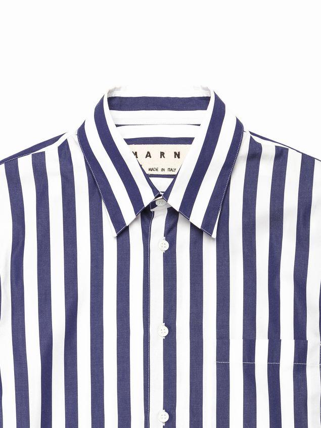 15c802ba2b MARNI T-shirt manica corta Uomo Camicia in popeline righe grandi d
