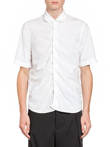 Marni Shirt in washed techno poplin Man
