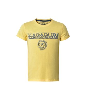 NAPAPIJRI K SPARTAN JUNIOR KID SHORT SLEEVE T-SHIRT,YELLOW