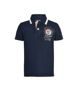 NAPAPIJRI K GANDY JUNIOR KID SHORT SLEEVE POLO,DARK BLUE