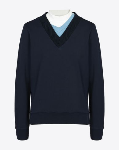 MAISON MARGIELA 10 Sweatshirt U Triple neck sweatshirt f