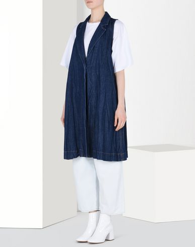 MM6 by MAISON MARGIELA Waistcoat D Denim gilet f