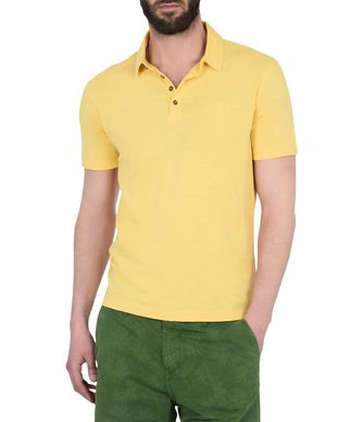 NAPAPIJRI EMIRO MAN SHORT SLEEVE POLO,YELLOW