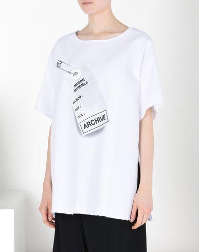 Maison Margiela Tag Amp Flyer T Shirt Women Maison