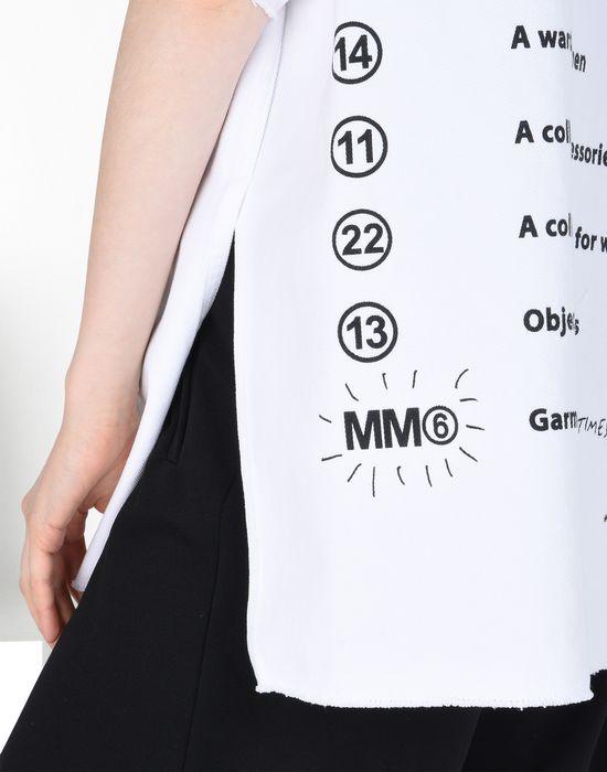395ec10d9ba81 MM6 MAISON MARGIELA Tag   flyer T-shirt Top      pickupInStoreShipping info