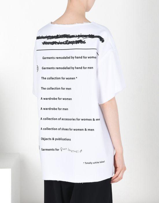 camiseta top Mm6 Etiqueta info Pickupinstoreshipping Margiela volante Maison y wCXqAFC