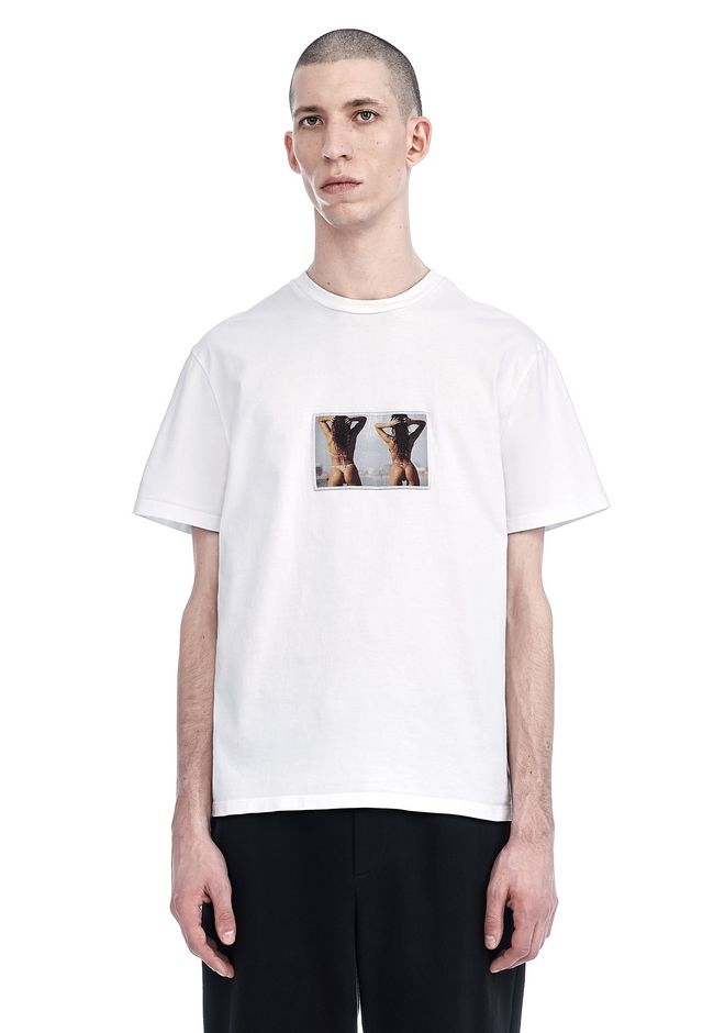 ALEXANDER WANG TOPS Men MIAMI BABES T-SHIRT
