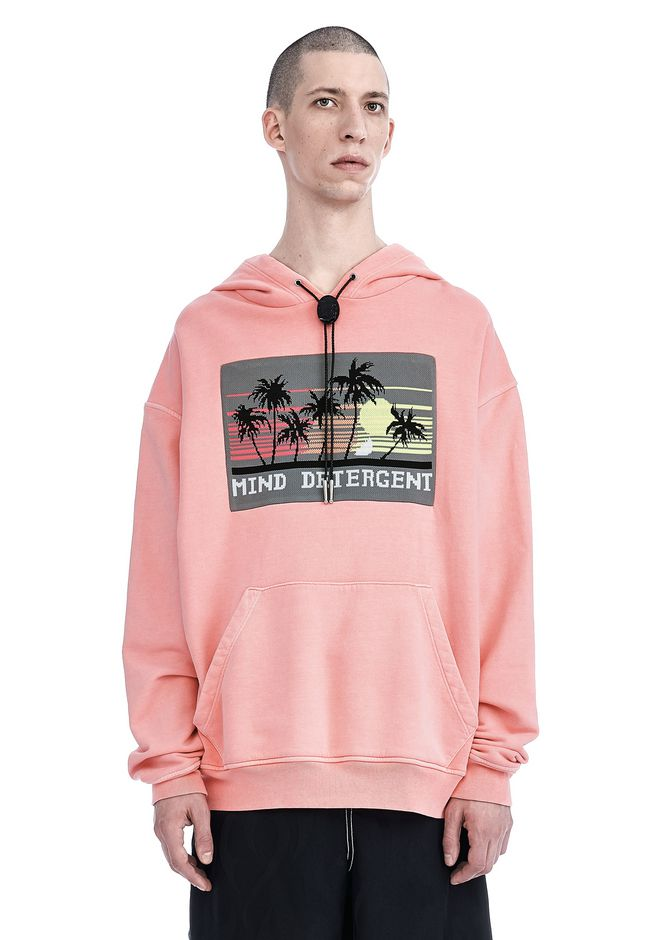 ALEXANDER WANG ready-to-wear-sale GARMENT DYED HOODIE