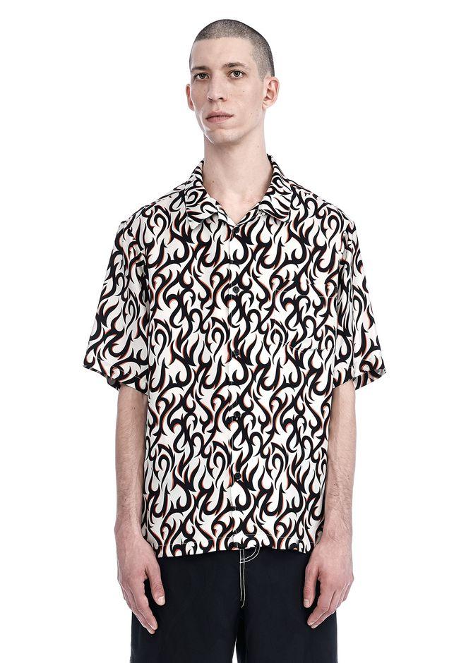 ALEXANDER WANG nwvmens-apparel SILK HAWAIIAN SHIRT