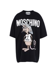 Kurzärmliges T-Shirt Damen MOSCHINO
