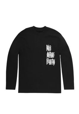 NO AFTER PARTY LONG SLEEVE T-SHIRT