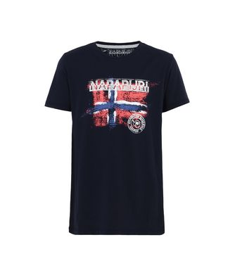 NAPAPIJRI K SISALIA JUNIOR KID SHORT SLEEVE T-SHIRT,DARK BLUE