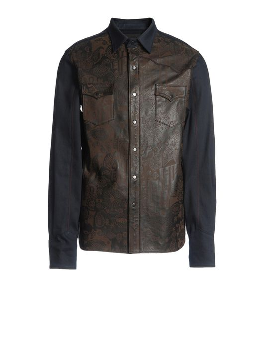 DIESEL BLACK GOLD STAPELLE Shirts U f