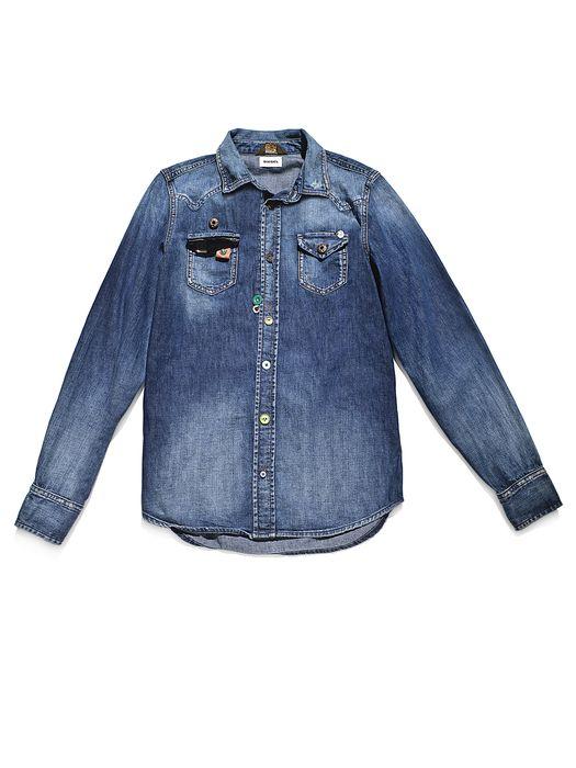 DIESEL REBOOT-DENIM-SHIRT Shirts U f