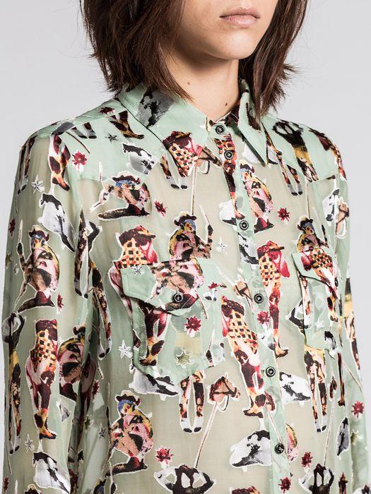 DIESEL C-PAVO Camisa D a