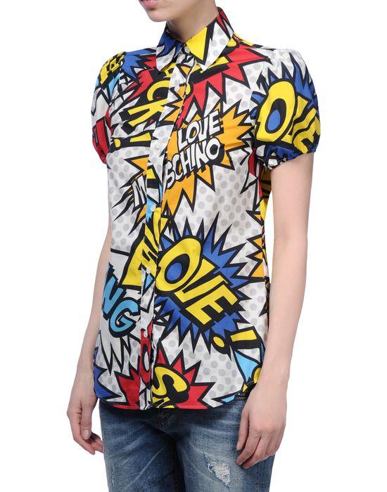 Short sleeve shirt Woman LOVE MOSCHINO