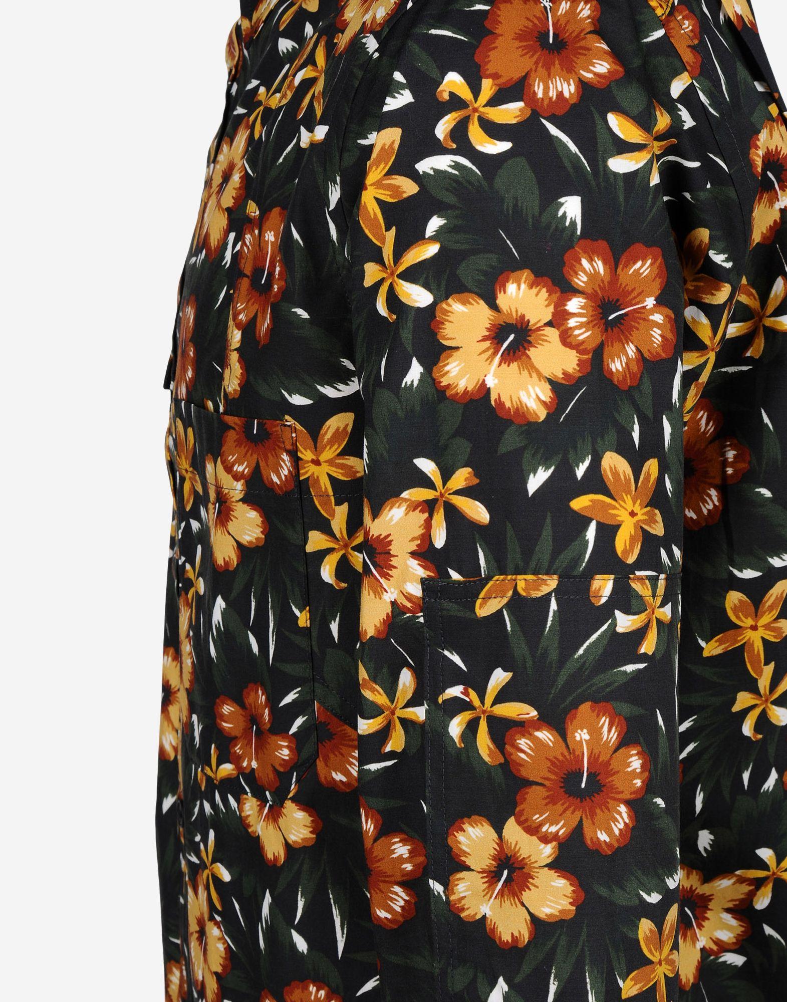 23bf02a45f27 Y-3 Y-3 Aloha Print Shirt Long sleeve shirt Man a ...