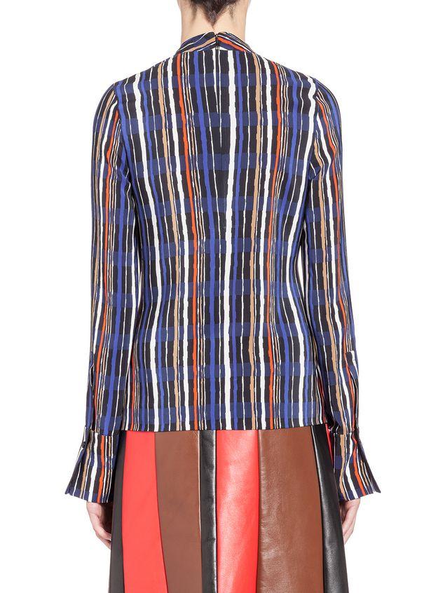 Marni Blouse in silk crepe Shades print Woman