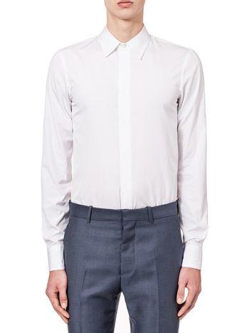 Marni Slim-fitting shirt in two-ply poplin Man