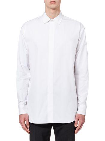 Marni Runway shirt in compact twisted cotton Man