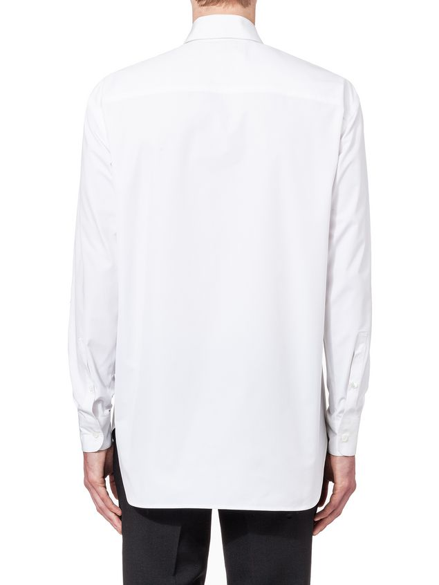 Marni Runway shirt in compact twisted cotton Man