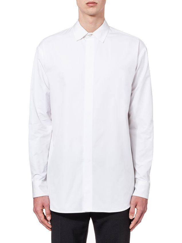Marni Runway shirt in compact twisted cotton Man - 1