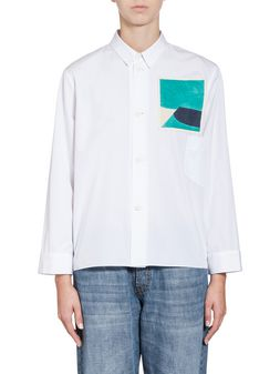 Marni Blouse in cotton Jack Davidson print Woman