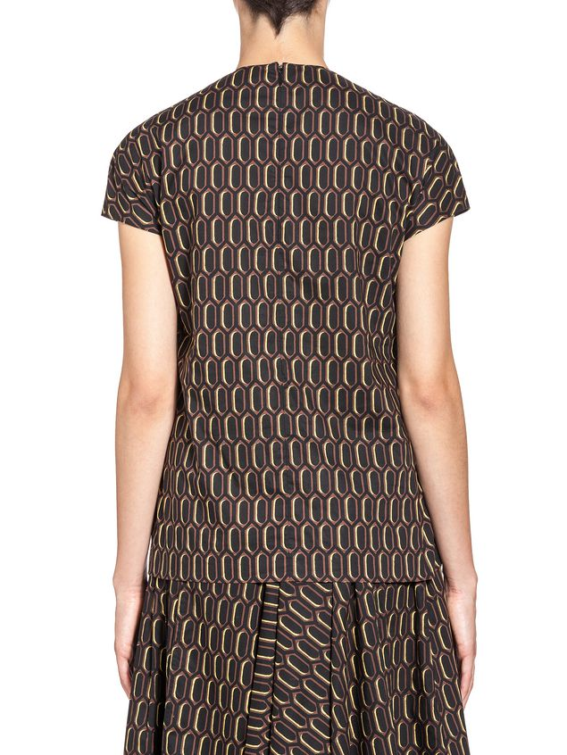 Marni Blouse in poplin Amlapura print Woman