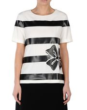 BOUTIQUE MOSCHINO Short sleeve t-shirts Woman r
