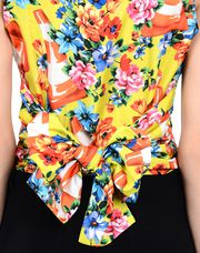MOSCHINO Sleeveless shirt Woman e