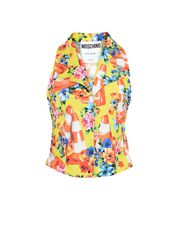 MOSCHINO Sleeveless shirt Woman f