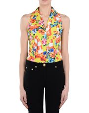 MOSCHINO Sleeveless shirt Woman r