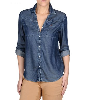 NAPAPIJRI GWENDOLIN WOMAN DENIM SHIRT