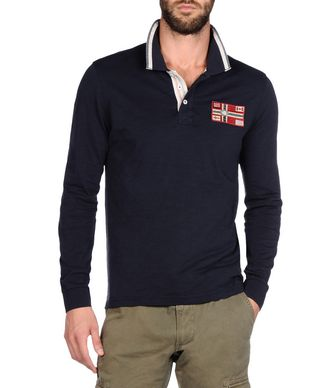 NAPAPIJRI EPHES MAN LONG SLEEVE POLO
