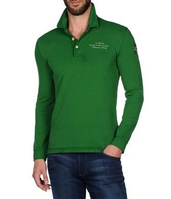 NAPAPIJRI ELBAS STRETCH LONG SLEEVES MAN LONG SLEEVE POLO