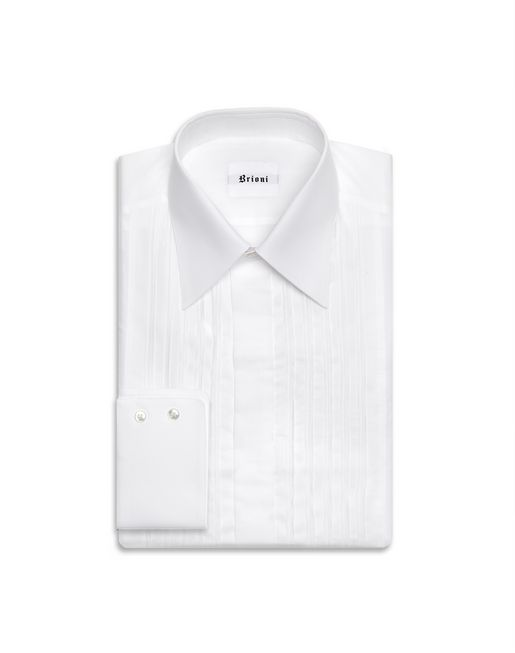 BRIONI Formal shirt U Tuxedo shirt f