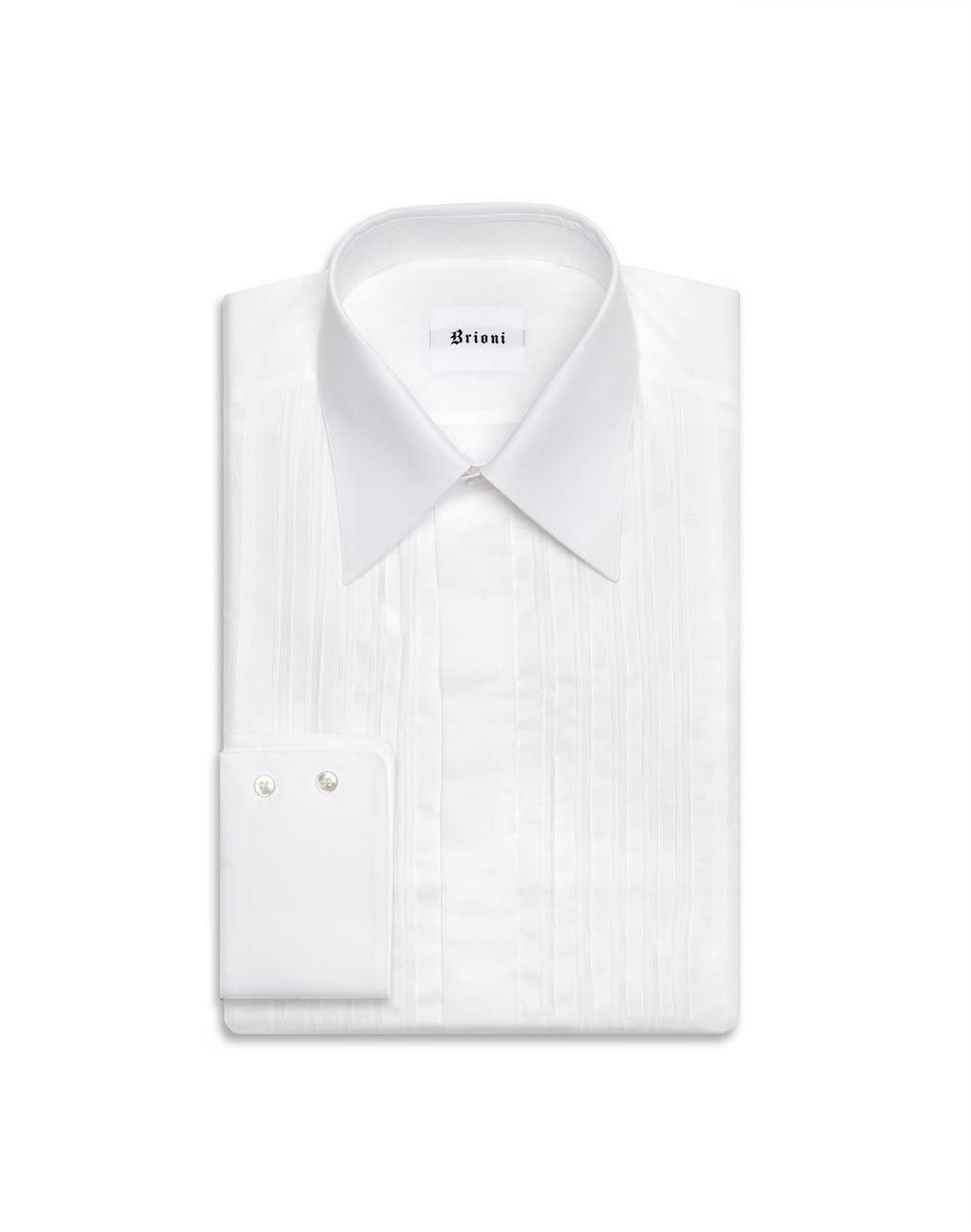 BRIONI Рубашка под смокинг Классическая рубашка Для Мужчин f