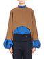 Marni Runway kimono blouse in wool and silk  Woman - 1