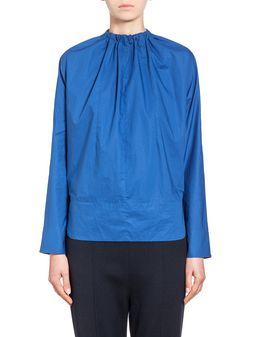 Marni Runway blouse in coated poplin  Woman
