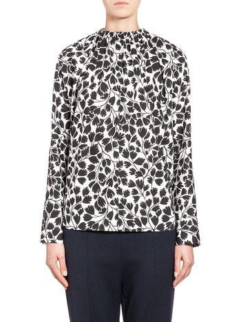 Marni Shirt in coated poplin, Ames print  Woman