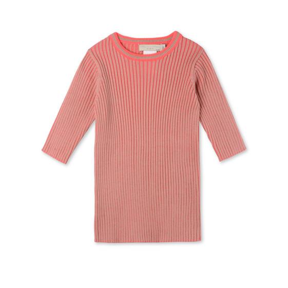 Rosafarbener Pullover Becca
