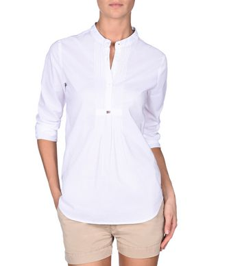 NAPAPIJRI GORONA WOMAN BLOUSE,WHITE