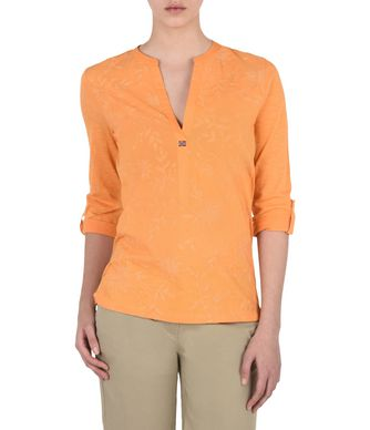 NAPAPIJRI GIANT  WOMAN BLOUSE,FLORESCENT ORANGE