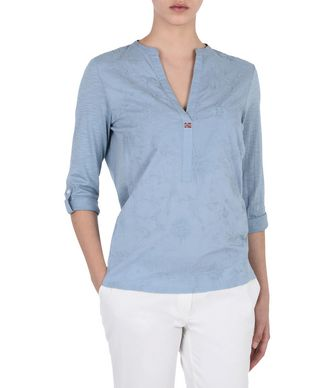 NAPAPIJRI GIANT  WOMAN BLOUSE,PASTEL BLUE