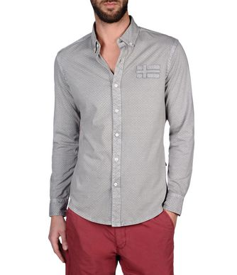 NAPAPIJRI GUELF MAN LONG SLEEVE SHIRT,GREY