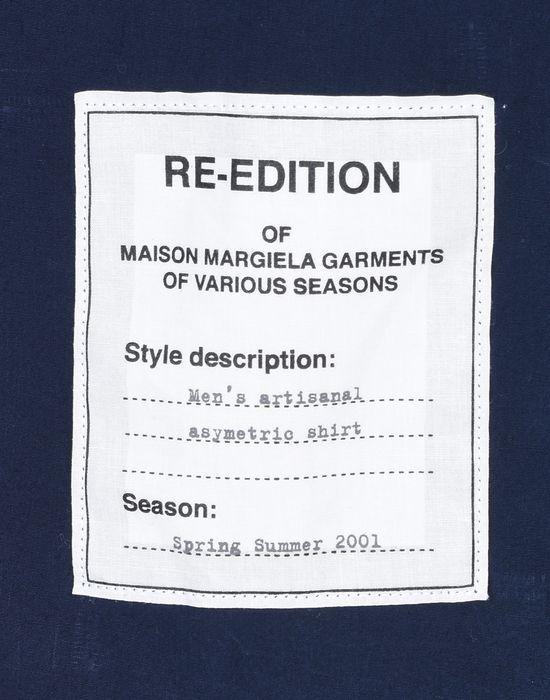 MAISON MARGIELA 14 'Re-edition' loose fit shirt Long sleeve shirt U b